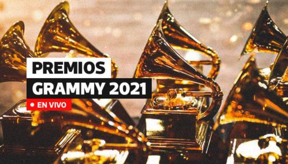 Grammys 2021: este domingo 14 de marzo se realizará la esperada premiación que tuvo que ser postergada por la pandemia del coronavirus | Imagen: Diseño El Comercio