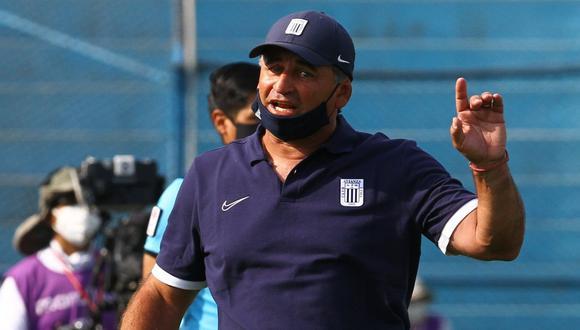 Carlos Bustos realizó un balance de la primera parte de Alianza Lima en el 2021. (Foto: Alianza Lima)