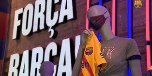 Coronavirus en España: Barcelona confía que sus mascarillas animen a hinchas más jóvenes a protegerse