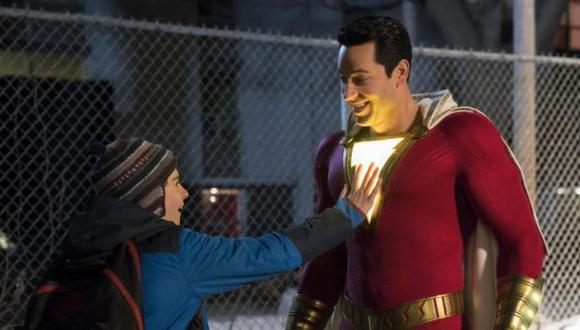 ¿Cuántas escenas post-créditos tiene Shazam? | Zachary Levi es Shazam en la primera película del superhéroe (Foto: Warner Bros)