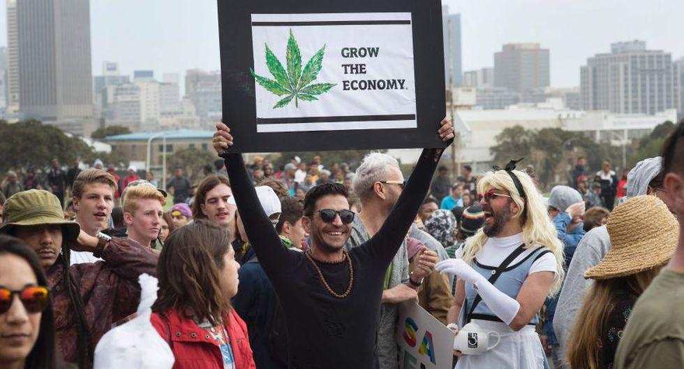 Miles en el mundo marchan por la marihuana [FOTOS] - 7