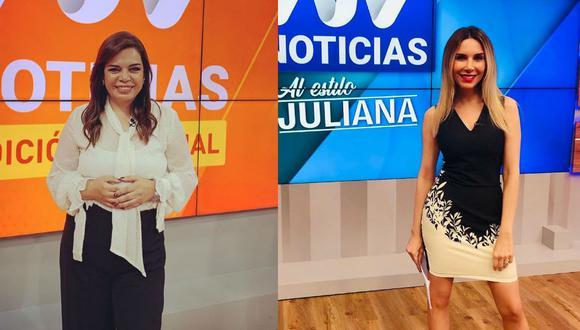 """Periodista indicó que se sorprendió por las declaraciones de su colega en el programa """"Magaly TV, la firme"""".  (Fotos: Instagram)"""