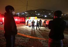 Ancón: asesinan a balazos a tres personas en un puesto de comida | VIDEO