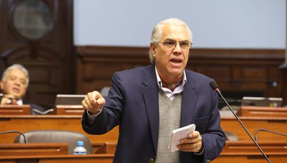 El congresista del Partido Morado era uno de los integrantes de la comisión especial que elegiría a los próximos magistrados del Tribunal Constitucional (Foto: Congreso)