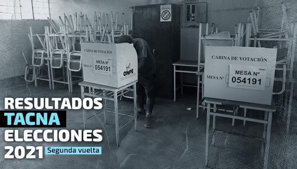 Conoce los resultados electorales en Tacna. (Diseño de foto: GEC)