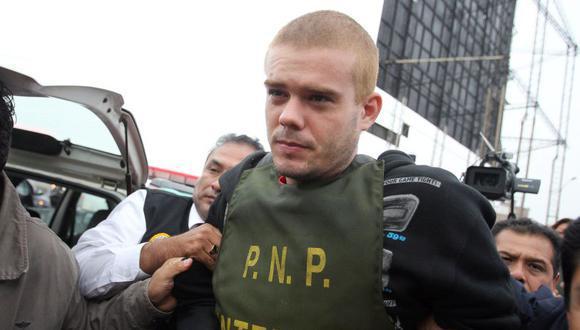 Van Der Sloot habría coordinado el ingreso de los 297 gramos de cocaína y 140 gramos de marihuana al penal de Juliaca. (Foto: Rolly Reyna/ El Comercio)