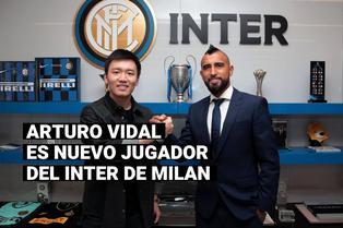 Arturo Vidal fue anunciado como nuevo jugador del Inter de Milán