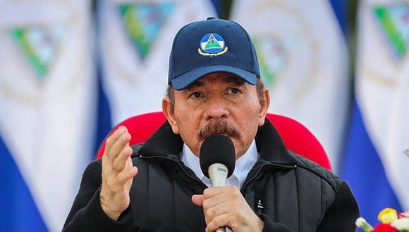 El presidente Daniel Ortega, durante el 41 aniversario de la Revolución Sandinista, realizado sin un evento público debido a la pandemia de COVID-19, en Managua. (Foto: Archivo/ César PEREZ / PRESIDENCIA NICARAGUA / AFP).