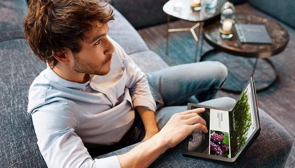 Al contar con la aplicación Mode Switcher de Lenovo, permite orientar las ventanas en la pantalla según su uso.