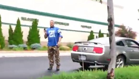 Suben última actitud violenta del asesino de Virginia [VIDEO]