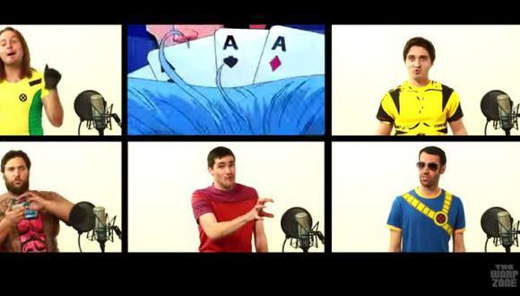 YouTube: la canción de los X-Men en versión a capela (VIDEO)