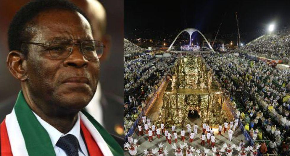 El Carnaval de Río y el polémico homenaje a Guinea Ecuatorial