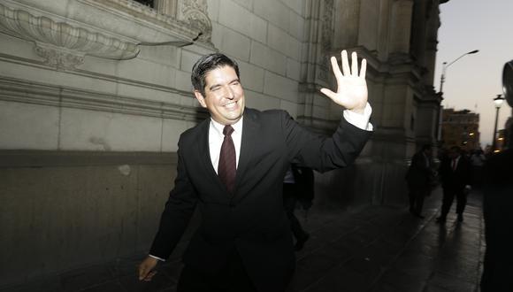 El congresista Luis Roel, de Acción Popular, dijo que sustentará las denuncias que fueron admitidas a trámite ante la Comisión Permanente. (Foto: GEC)