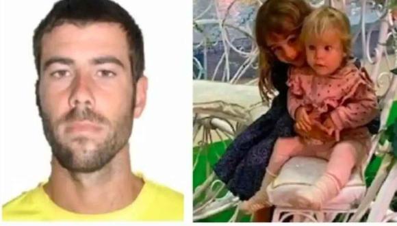Según los investigadores españoles, Tomás Gimeno asesinó a sus hijas Anna y Olivia. (El Español).