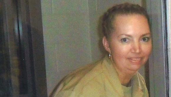 La asesina convicta Lisa Montgomery fotografiada en el Centro Médico Federal (FMC) de Fort Worth. (Cortesía de los abogados de Lisa Montgomery / Reuters).