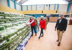 Arequipa: Qali Warma entregó 611 toneladas de alimentos al  distrito de Mariano Melgar