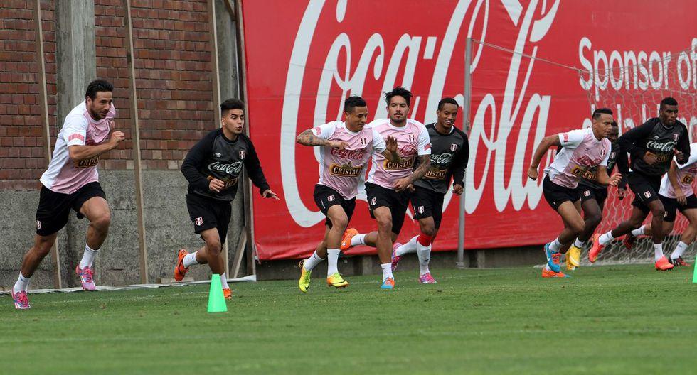 Con Pizarro a la cabeza: Perú entrena para chocar con Guatemala - 4