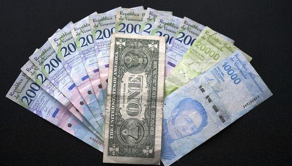 ¿Cuánto está el dólar en Venezuela HOY? (Foto: AFP)