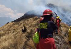 Cusco: combaten por aire otros dos incendios forestales en Valle Sagrado de los Incas | VIDEO