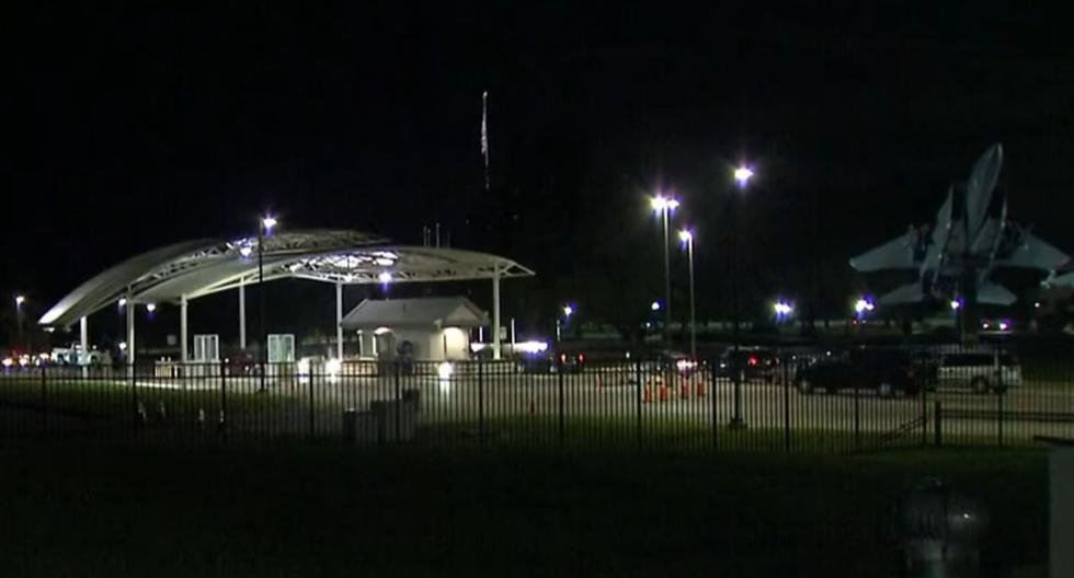 Ohio airbase closed for four hours after reports of armed attacker