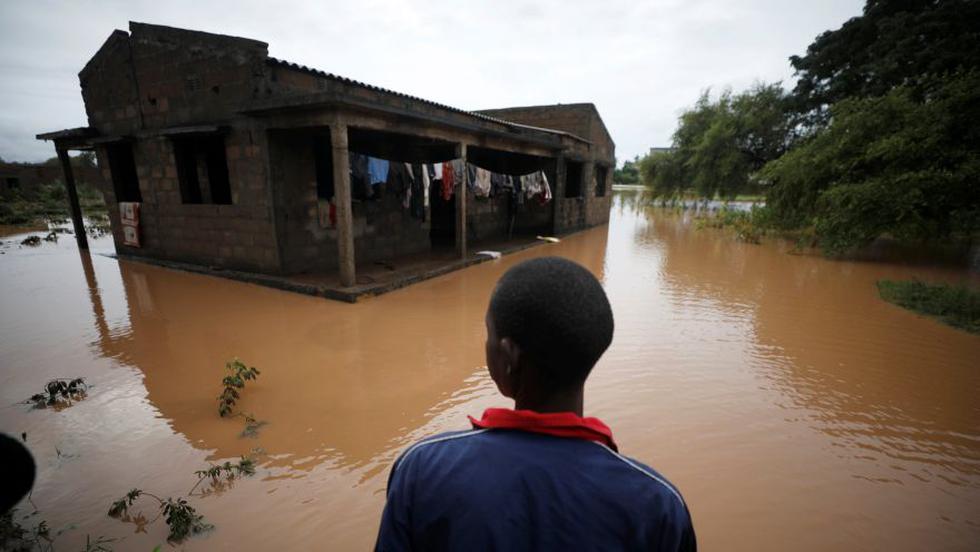 Mozambique   El poderoso ciclón Kenneth deja inundado el país   FOTOS. (Reuters)
