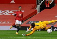 Manchester United vs. Liverpool: Rashford marcó el 2-1 para los 'Red Devils' en FA Cup | VIDEO