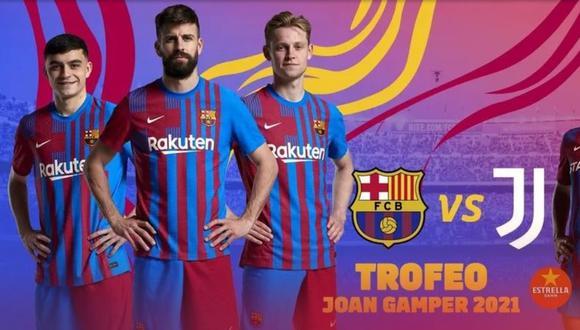 Debido a que Messi todavía no está oficializado, no aparece como figura en la publicidad. (Foto: Barcelona)