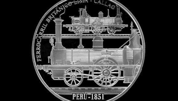 """La locomotora """"Callao"""" inauguró la primera ruta ferroviaria entre Lima y Callao en el año 1851, durante el gobierno de Ramón Castilla. (Foto: GEC)"""