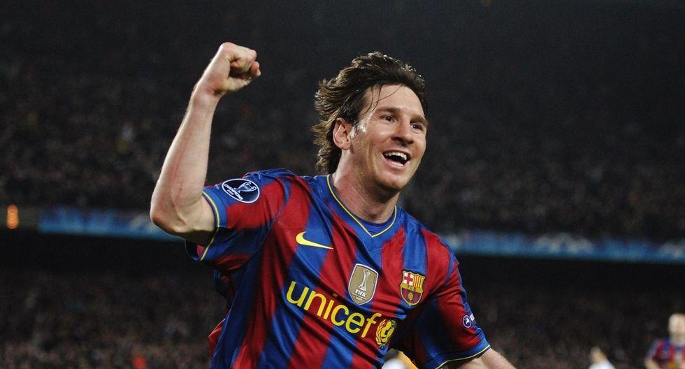 Hace 10 años, Lionel Messi anotó 4 goles a  Arsenal en los cuartos de final de la UEFA Champions League. Este resultado sirvió para clasificar a semifinales donde serían eliminados por Inter de Milán. (Foto: UEFA)
