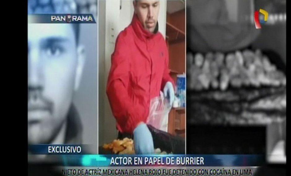 Al actor mexicano Alan Pardo se le encontró 50 cápsulas de droga en el estómago. (Panorama)