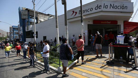 El gobierno peruano se encuentra entregando 4 bonos para apoyar a la población durante la pandemia por coronavirus. (Foto: Fernando Sangama/ El Comercio)