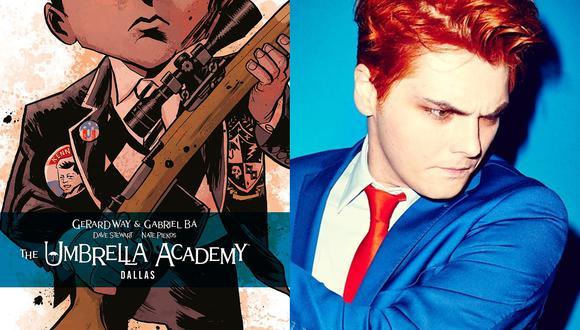"""Antes de ser una serie de Netflix, """"The Umbrella Academy"""" fue un exitoso cómic creado por Gerard Way, la voz de My Chemical Romance. Fotos: Difusión."""