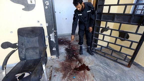 El Estado Islámico ha perpetrado diversos ataques en Libia. La imagen muestra una zona en Zliten, donde tres solados murieron víctimas de un atentado en agosto de este año. (Archivo AFP)