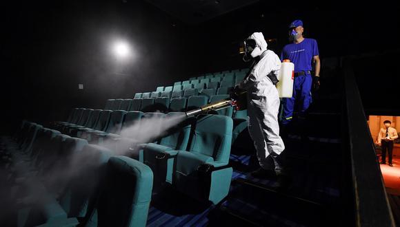 Cines: el negocio del entretenimiento es de los que más impacto sufrió en términos económicos. (Foto: AFP)