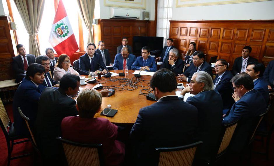 La sesión de la Junta de Portavoces iba a iniciar a las 9 a.m. (Foto: Congreso)
