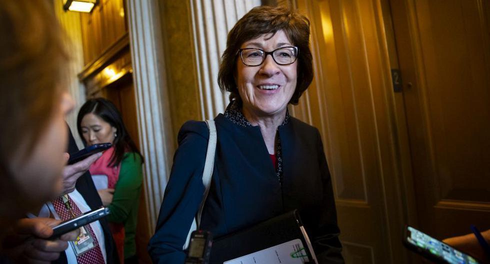 Collins, de 67 años, ha adoptado ese enfoque durante casi 24 años en el Senado, incluso en momentos en que la búsqueda de acuerdos se ha vuelto cada vez más escasa y políticamente peligrosa en la era de Trump. (Foto: Archivo/Bloomberg).