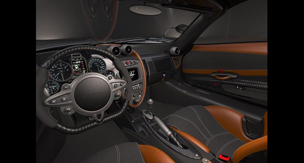 El Pagani Huayra Imola equipa un propulsor V12 de 6.0 litros que desarrolla 815 HP. (Fotos: Pagani).