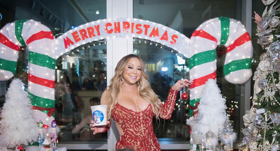 BELLEVUE, WA - SEPTEMBER 06: Global icon Mariah Carey announces Mariah Carey Christmas Factory during the grand opening Of Sugar Factory American Brasserie on September 6, 2017 in Bellevue, Washington.   Mat Hayward/Getty Images for Sugar Factory American Brasserie/AFP