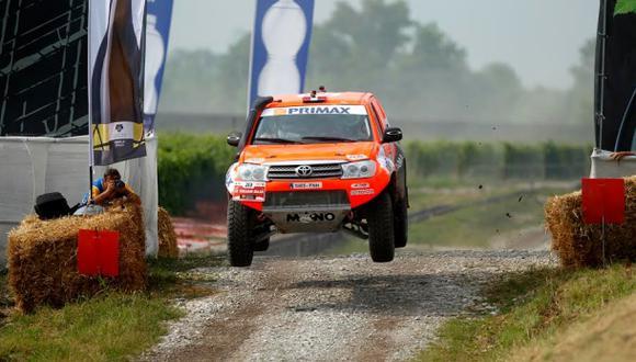 Raúl Orlandini toma la punta del Rally Baja Italia