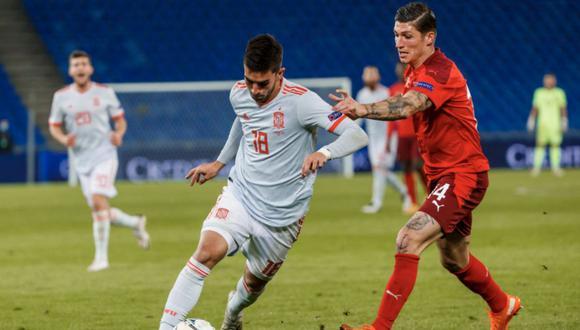 España no pudo en su visita a Suiza y solo empató 1-1 sobre el final del partido | Foto: Selección Española de Fútbol / Twitter