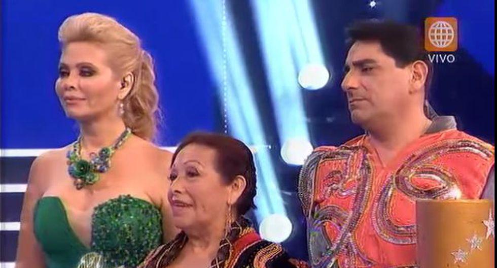 El gran show: Carlos Álvarez eliminado y Saskia Bernaola sigue