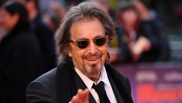 """""""Tuve que trabajar muchas cosas. Fui a terapia cinco días a la semana durante 25 años"""", indicó Al Pacino. (Foto: AFP)"""