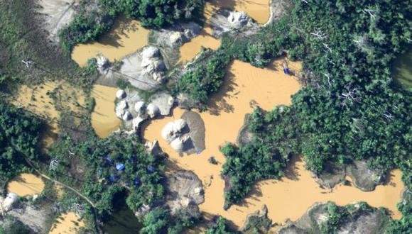 Madre de Dios, la región más afectada por la minería ilegal, solo cuenta con una curul en el Congreso de la República. (Foto: CEVAN – Fuerza Aérea del Perú)