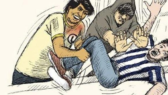 Repudio en redes por dibujo que hace alusión a muerte de Oyarce
