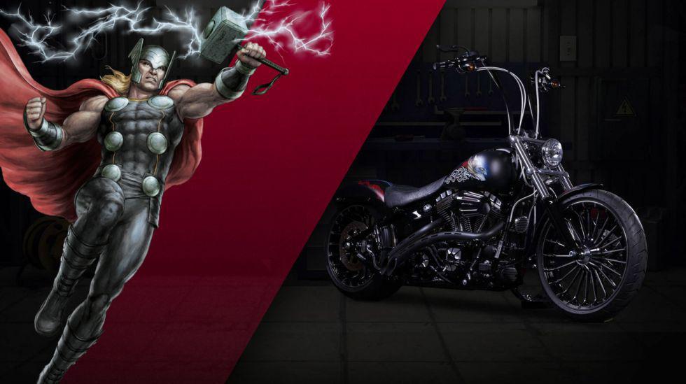Las motos de Harley-Davidson inspiradas en Marvel [FOTOS]   - 5