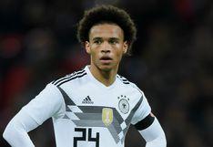 Perú vs. Alemania: Leroy Sané, segunda baja de 'Die Mannschaft' para el amistoso