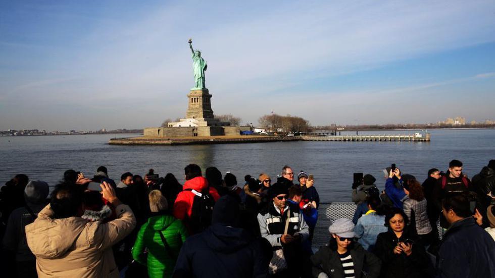 Nueva York invierte en reapertura de  Estatua de la Libertad. (Foto: AFP)