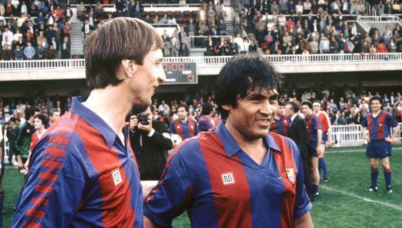 Johan Cruyff le reconoció a El Comercio, en el 2013, que Hugo Sotil fue un gran amigo y que nunca se distanciaron. (Foto: Don Balón)