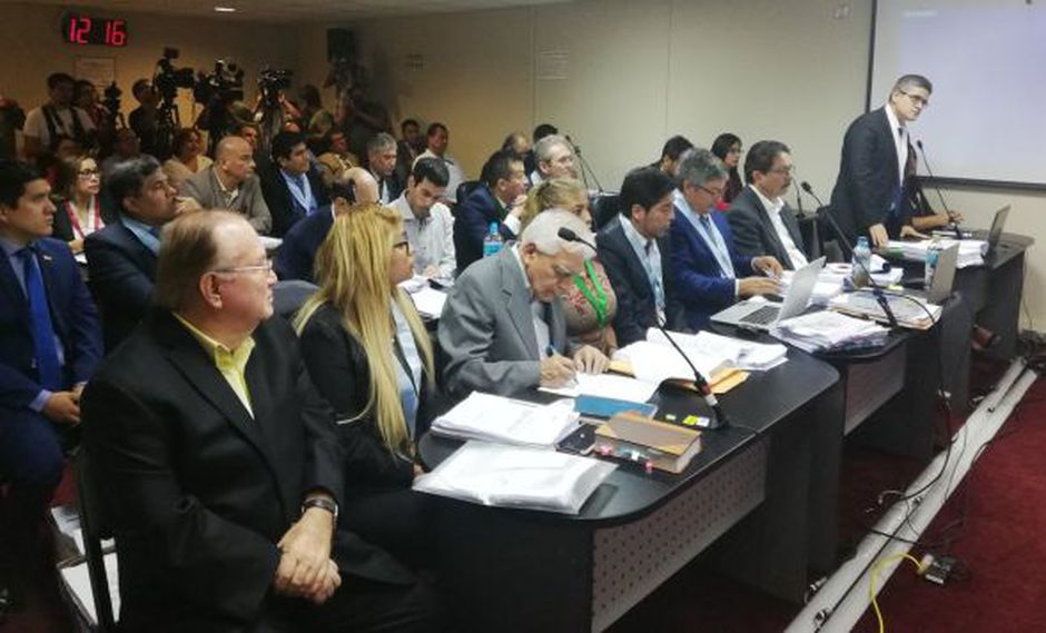 El fiscal José Domingo Pérez también pidió la suspensión de la audiencia. (Foto: Poder Judicial)
