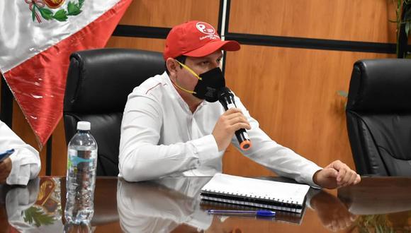 El gobernador de Piura, Servando García, hizo el pedido al Ejecutivo. (Foto: Gobierno Regional de Piura)